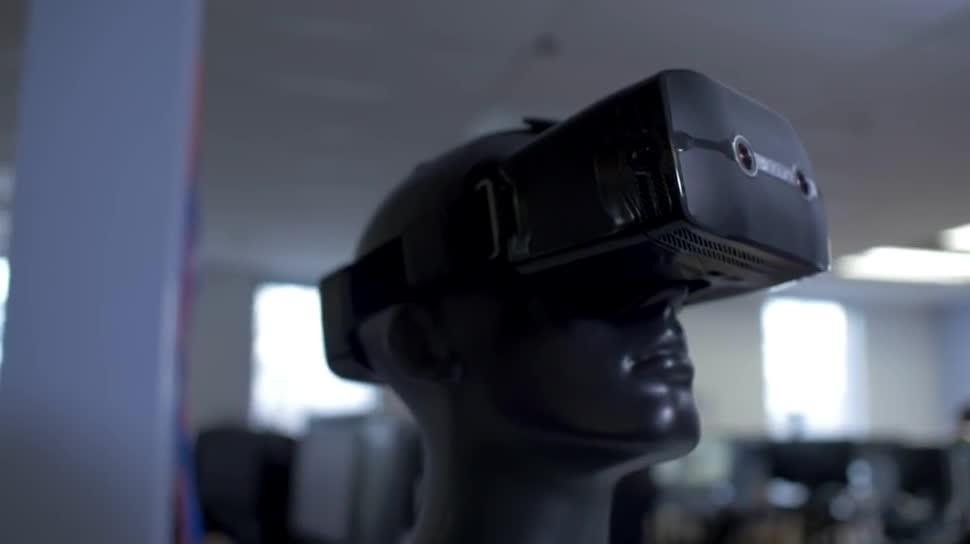 Amd, Virtual Reality, VR, Augmented Reality, Headset, Augmented-Reality, Datenbrille, VR-Brille, VR-Headset, GDC, AR-Brille, AR-Headset, GDC 2016, Sulon Q