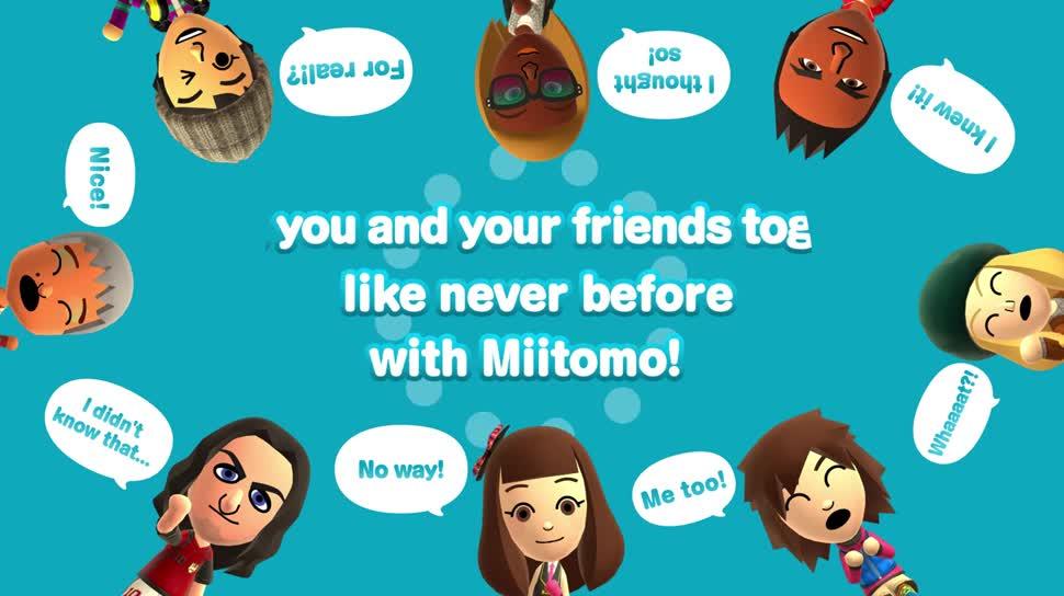 Trailer, Android, App, iOS, Nintendo, Miitomo, Mii