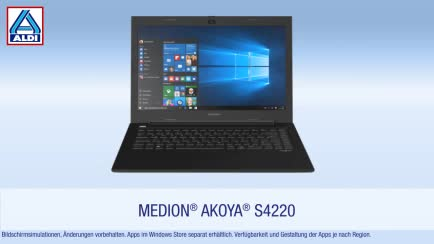 Notebook, Intel, Laptop, Quadcore, Full Hd, Aldi, IPS, ALDI-Notebook, Pentium, Medion Akoya, Medion Akoya S4220, ALDI-Nord, S4220