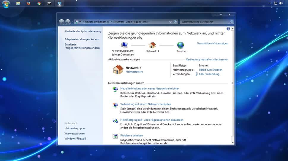 Microsoft, Betriebssystem, Windows, Netzwerk, SemperVideo, Netzwerkeinstellungen, Nmap