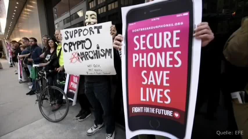 Apple, Iphone, Datenschutz, Fbi, Ermittlungen, Dpa