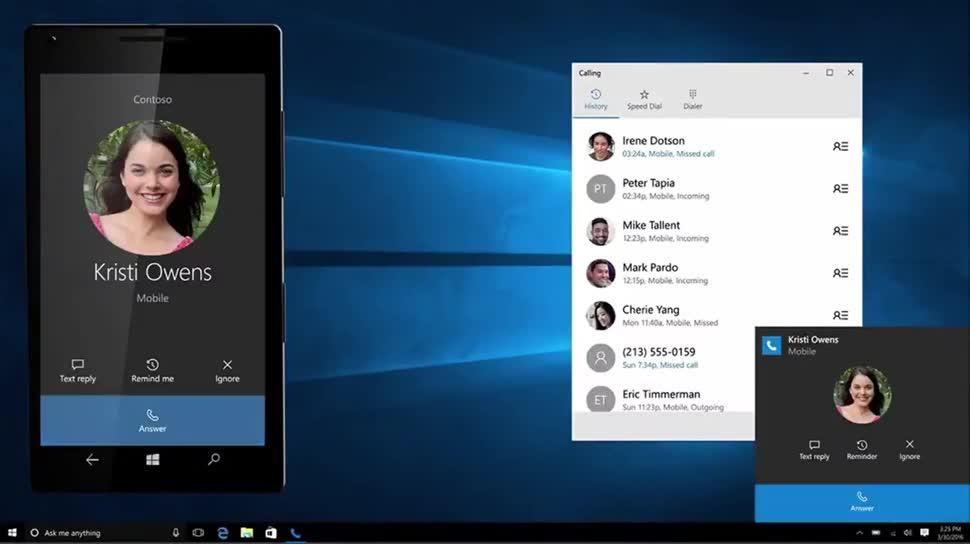 Microsoft, Betriebssystem, Windows, Windows 10, Cortana, Redstone, Build 2016