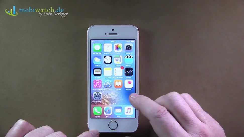 Smartphone, Apple, Iphone, Hands-On, Lutz Herkner, iPhone SE, Apple iPhone SE