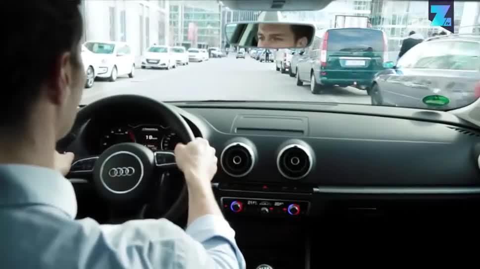 App, Zoomin, Autos, Technik, Parken, Bosch, Autofahrer