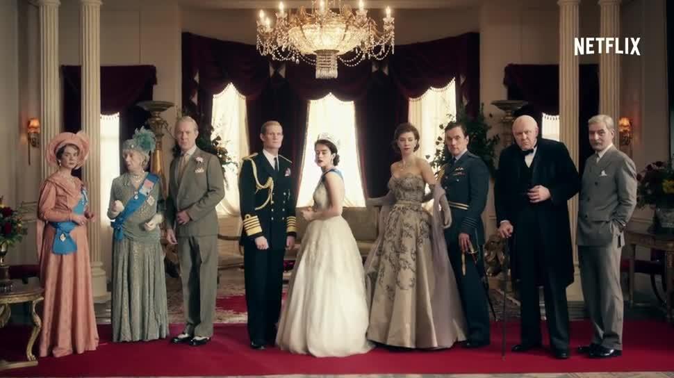 Trailer, Netflix, Serie, Teaser, The Crown, Queen Elizabeth II