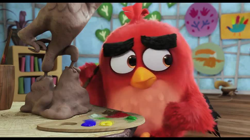 Trailer, Kinofilm, Angry Birds, Sony Pictures, Sony Pictures Entertainment, The Angry Birds Movie