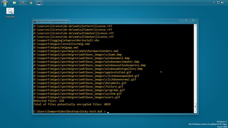 Sicherheit, Malware, SemperVideo, Ransomware, Locky, Skript