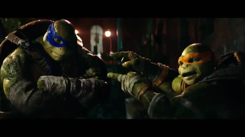 Trailer, Kino, Kinofilm, Paramount Pictures, Teenage Mutant Ninja Turtles, Out of the Shadows, Turtles