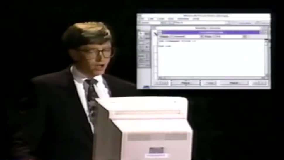 Microsoft, Bill Gates, Keynote, Programmierung, Geschichte, Visual Basic