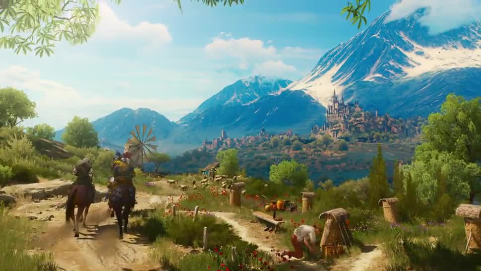 Trailer, Rollenspiel, Dlc, The Witcher 3, The Witcher, CD Projekt, Wild Hunt, Witcher 3, Blood and Wine
