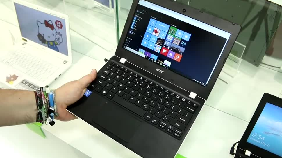 Windows 10, Acer, Computex, Computex 2016, Cloudbook, Aspire One 11
