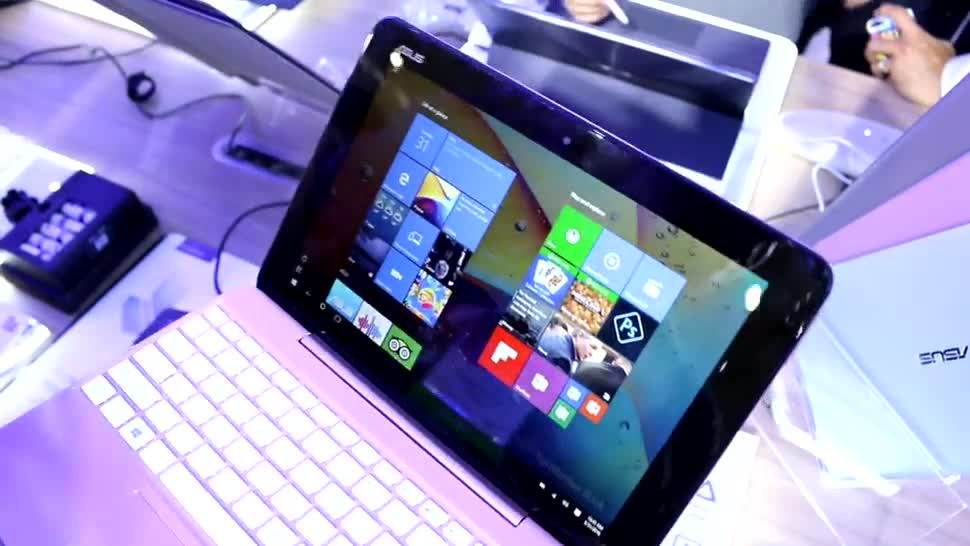 Windows 10, Tablet, Asus, 2-in-1, Computex, Computex 2016, Transformer Book T101