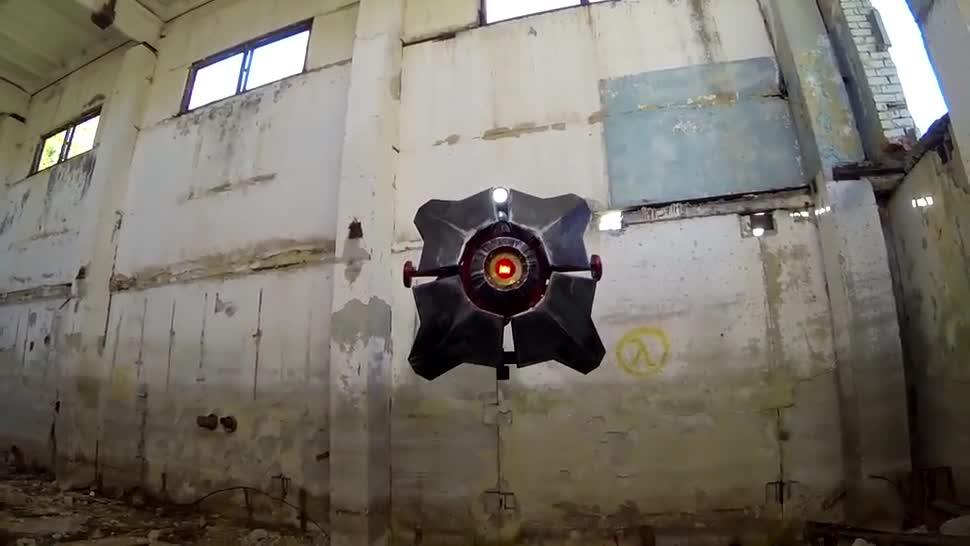 Drohne, Half-Life, Half-Life 2, Valplushka, City Scanner