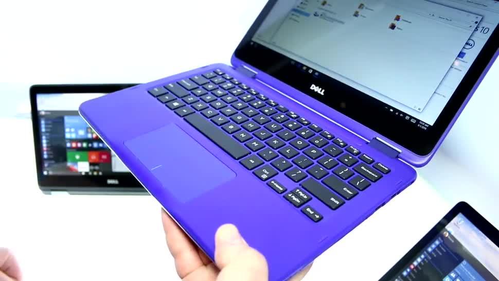 Notebook, Dell, 2-in-1, Computex, Convertible, Computex 2016, Inspiron 11 3000