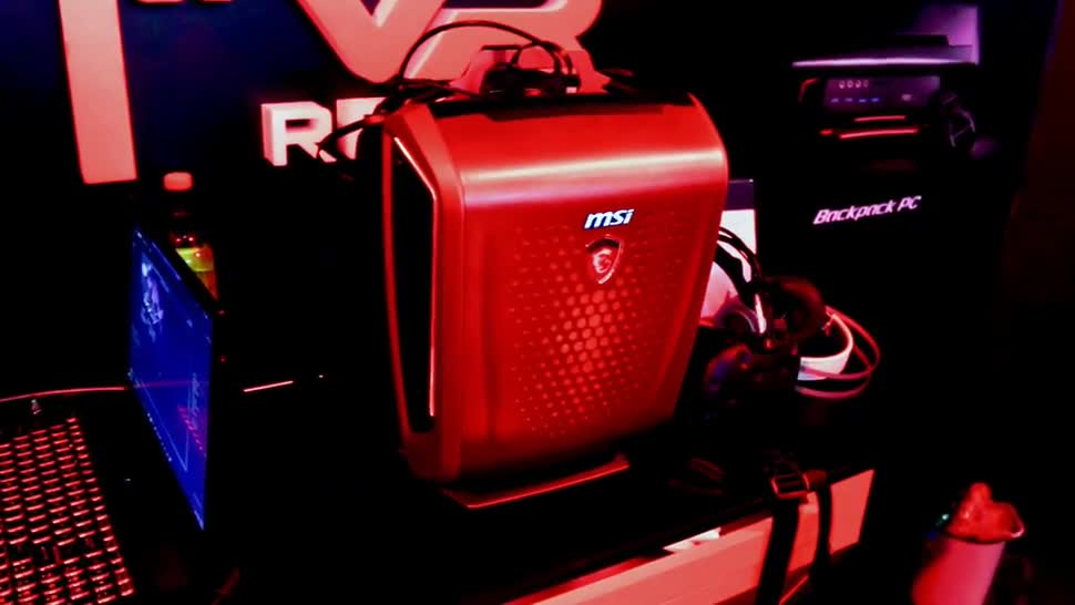 Virtual Reality, VR, Computex, Msi, Computex 2016, Rucksack