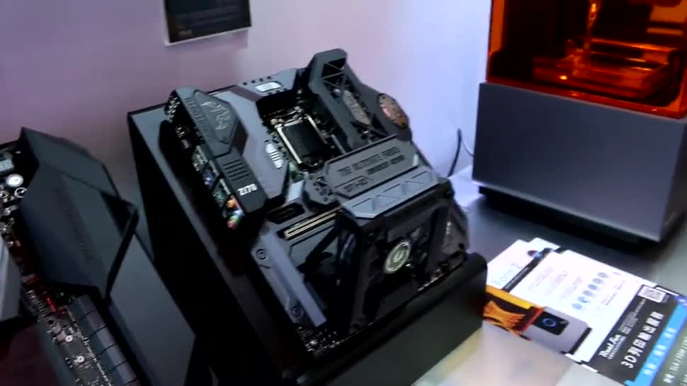 Pc, Asus, 3D-Drucker, 3D-Druck, Modding, Anpassung, Individuell