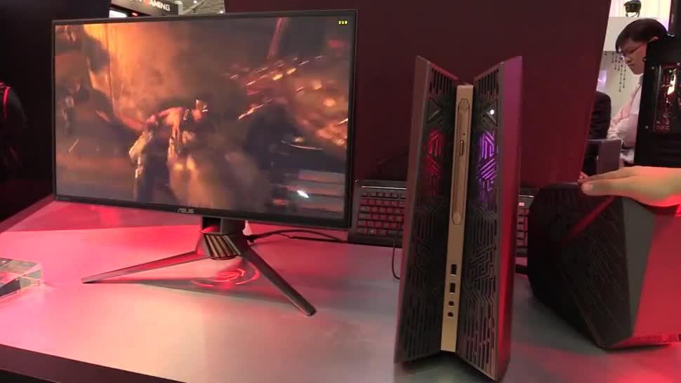 Gaming, Pc, Asus, Computex, NewGadgets, Desktop-PC, Computex 2016, ASUS ROG, Asus ROG G31, Asus G31
