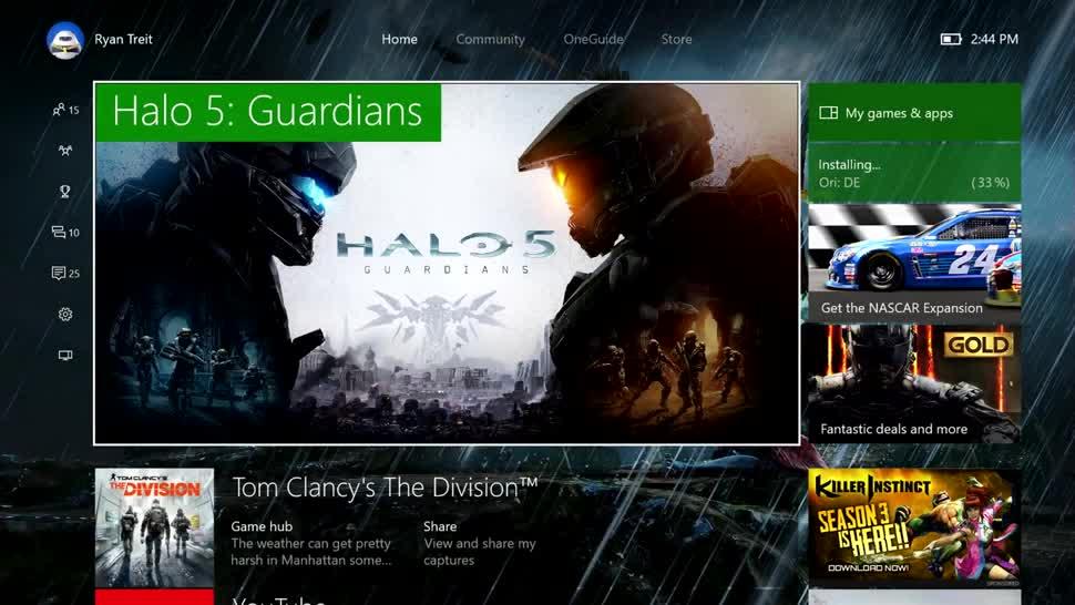 Microsoft, Windows 10, Xbox, Xbox One, Microsoft Xbox One, Redstone, Anniversary Update, Windows 10 Redstone, Dashboard, Major Nelson, Larry Hryb, Dashboard Update, Mike Ybarra