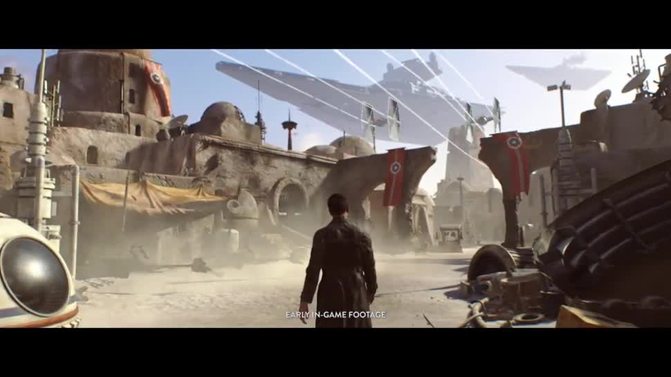 Trailer, Electronic Arts, Ea, E3, Star Wars, Dice, E3 2016, Star Wars: Battlefront
