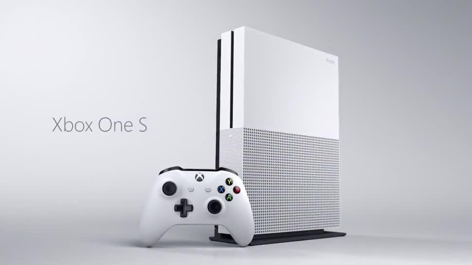 Microsoft, Gaming, Konsole, Spielkonsole, Xbox, Xbox One, Launch, E3, Vorstellung, Xbox One S, Microsoft Xbox One S