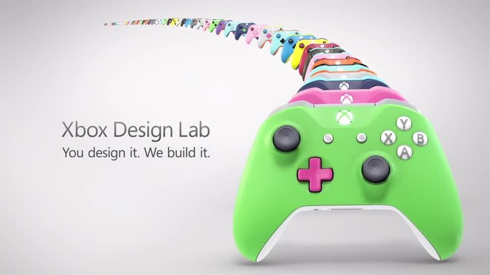 Microsoft, Xbox, Xbox One, Design, Controller, Xbox Controller, Design Lab