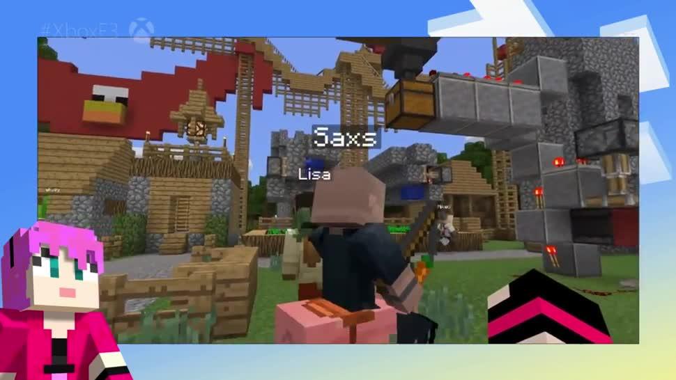 Microsoft, Xbox One, E3, Microsoft Xbox One, Minecraft, E3 2016