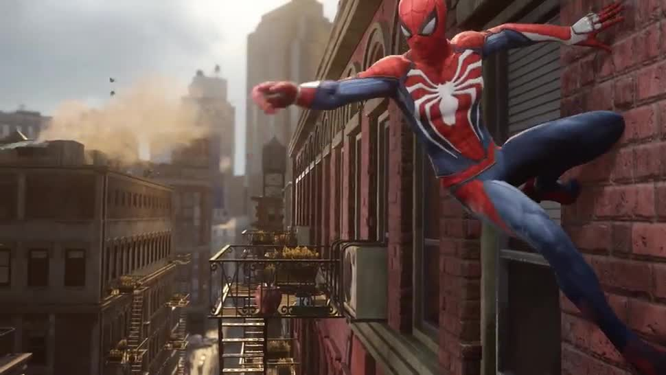Trailer, Sony, PlayStation 4, Playstation, E3, PS4, Sony PlayStation 4, actionspiel, Sony PS4, Marvel, E3 2016, Spider-Man