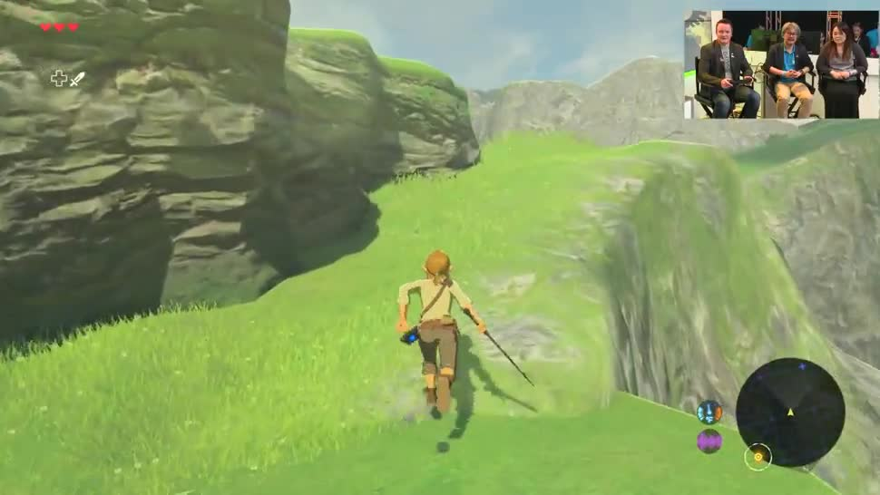 E3, Gameplay, Rollenspiel, Wii U, E3 2016, The Legend of Zelda, Nintendo Wii U, The Legend of Zelda: Breath of the Wild, Breath of the Wild, Nintendo Treehouse 2016, Nintendo Treehouse, Eiji Aonuma
