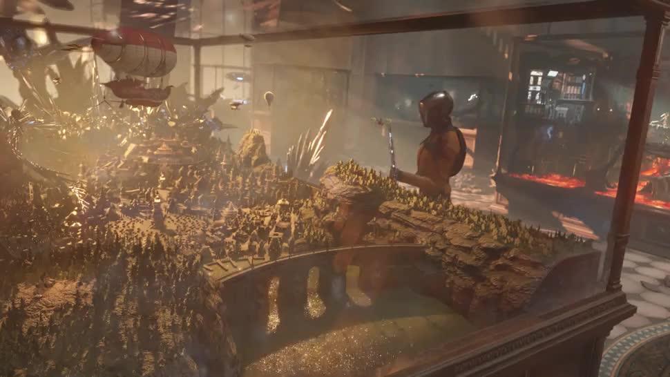 Teaser, Benchmark, Futuremark, 3dmark, DirectX 12, Time Spy