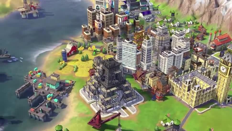 E3, Gameplay, 2K Games, E3 2016, Civilization, Civilization VI, Civilization 6
