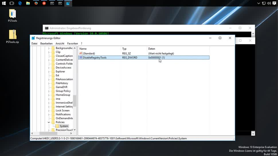 Microsoft, Windows, SemperVideo, Registry, PsExec