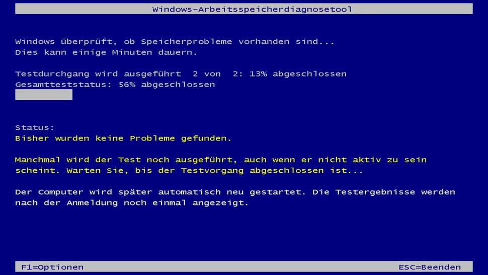 Windows, Speicher, Arbeitsspeicher, Ram, SemperVideo, Diagnose, Speicherprobleme