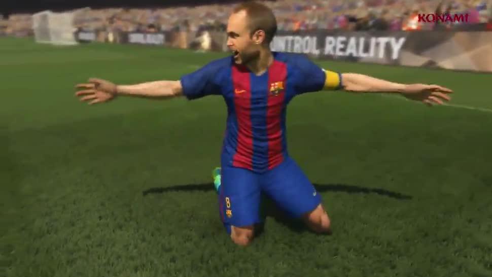 Trailer, Fußball, Konami, PES, Pro Evolution Soccer, PES 2017, FC Barcelona