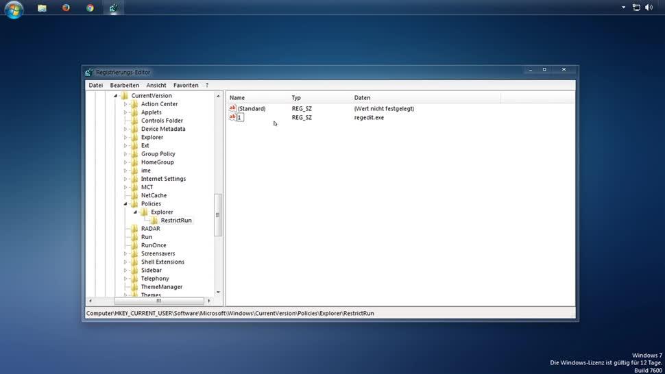 Windows, SemperVideo, Registry, Blacklist, Whitelist