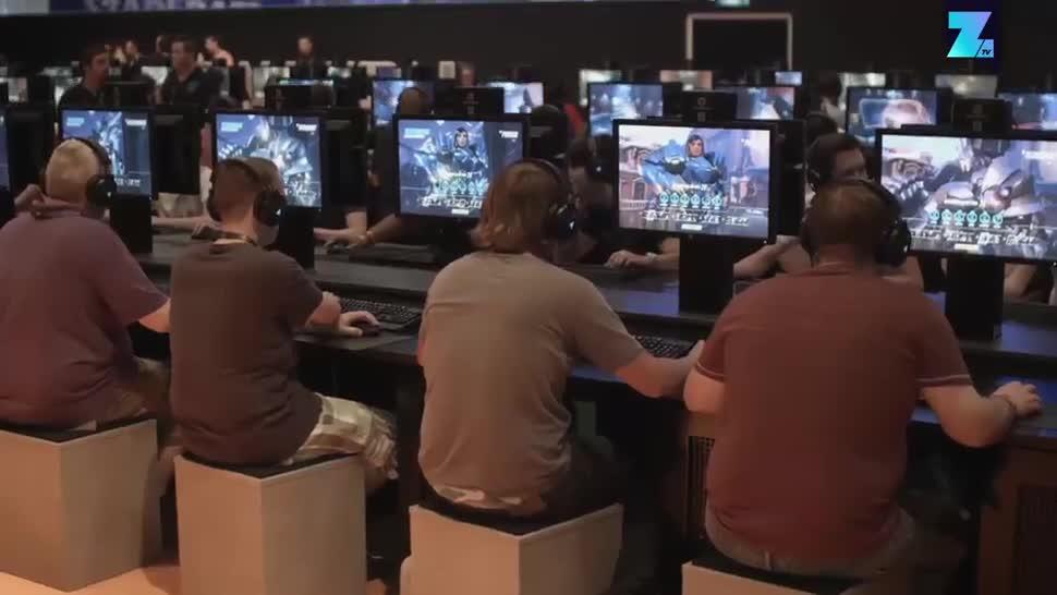Sicherheit, Gamescom, Zoomin, Messe, Videospiele, Computerspiele, Köln, Gamescom 2016