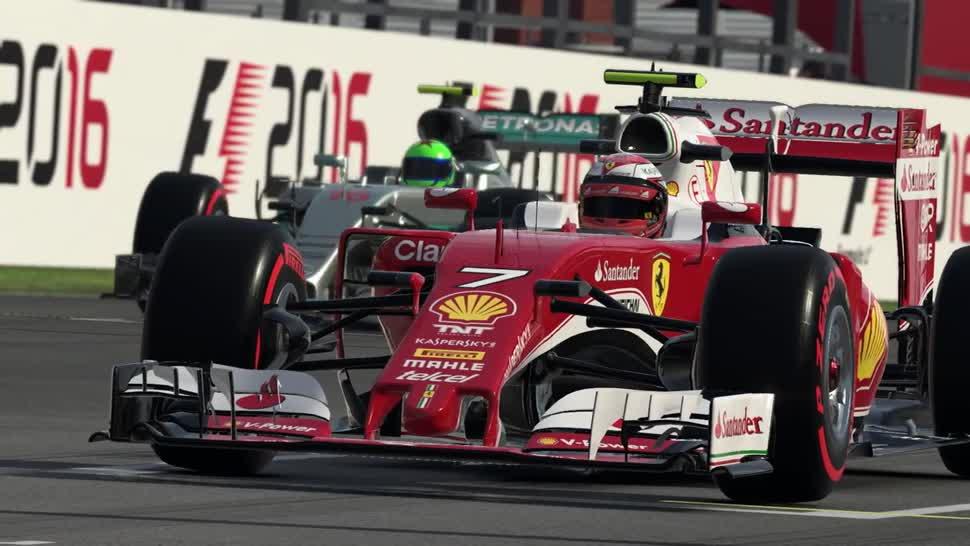 Trailer, Rennspiel, Codemasters, Formel 1, F1, F1 2016
