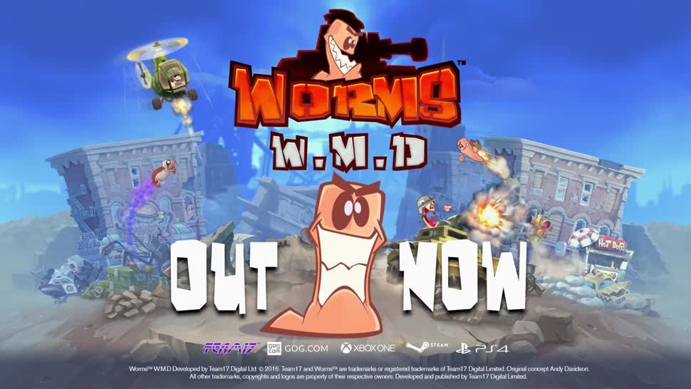 Trailer, Strategiespiel, Team 17, Worms, Worms W.M.D