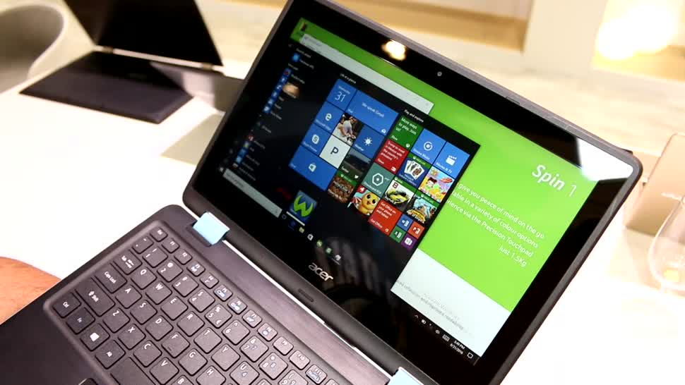 Notebook, Ifa, Acer, Convertible, IFA 2016, Spin 1