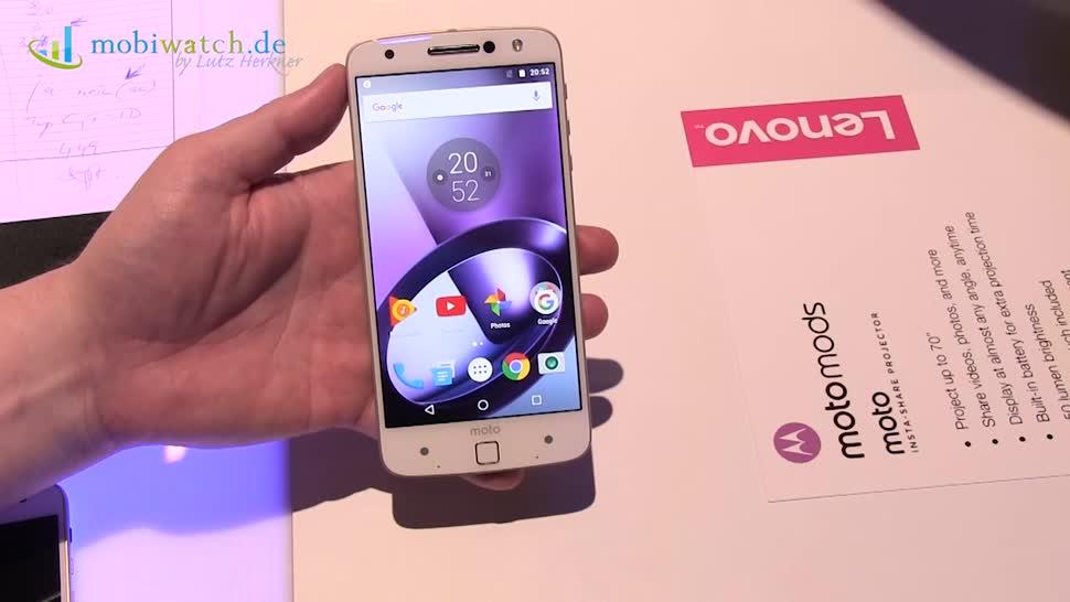Smartphone, Lenovo, Ifa, Motorola, Lutz Herkner, IFA 2016, Moto Z