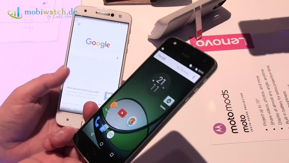Smartphone, Android, Ifa, Motorola, Lutz Herkner, IFA 2016, Moto Z Play