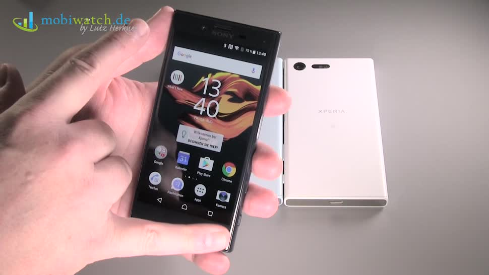 Smartphone, Android, Sony, Lutz Herkner, Xperia X Compact