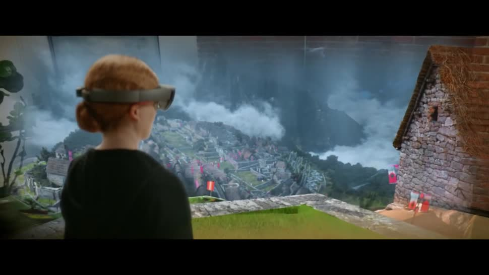 Microsoft, Augmented Reality, Augmented-Reality, HoloLens, Microsoft HoloLens, AR-Brille, AR-Headset, HoloTour