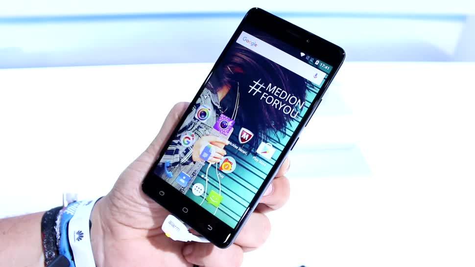 Smartphone, Android, Ifa, Medion, IFA 2016, Life X5520