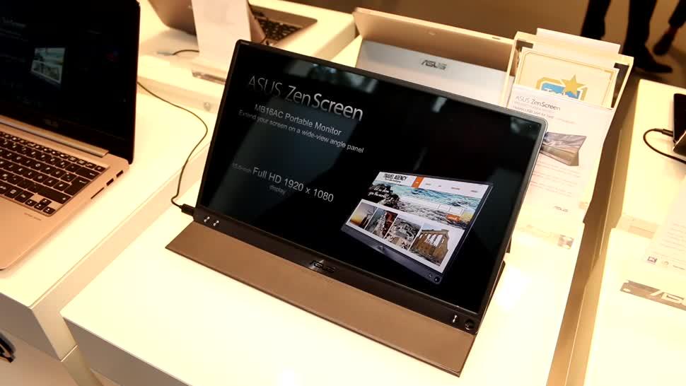 Display, Asus, Ifa, IFA 2016, Zenscreen