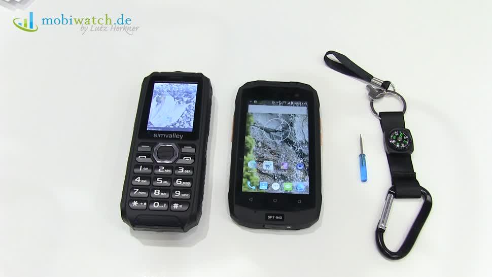 Smartphone, Android, Ifa, Lutz Herkner, Mobiltelefon, IFA 2016, Powerbank, Mobiwatch, Pearl, Simvalley, Simvalley SPT-940, SPT-940, Simvalley XT-690, XT-690