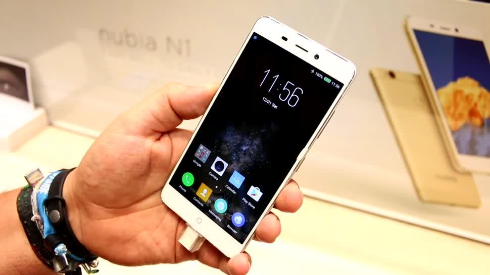 Smartphone, Android, Hands-On, Akku, Ifa, Hands on, Zte, Laufzeit, IFA 2016, Nubia, Akkuleistung, ZTE Nubia N1