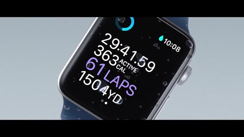 Apple, smartwatch, Uhr, Wearables, Armbanduhr, Apple Watch, Apple Watch Series 2