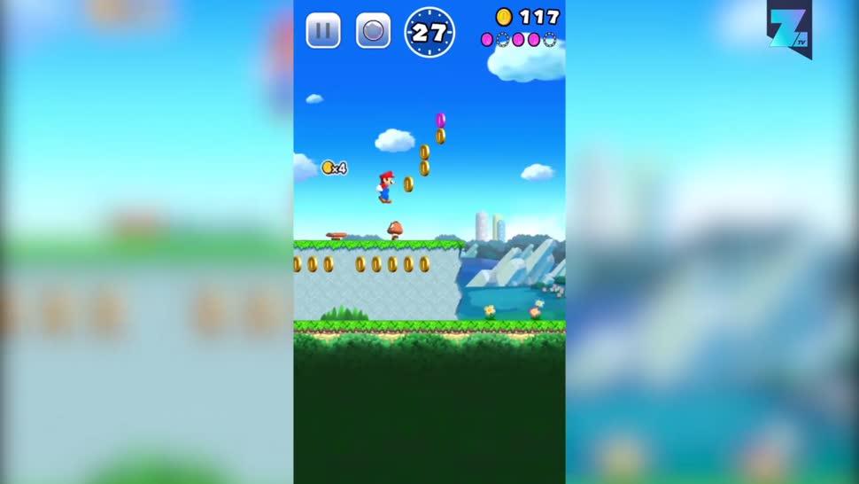 Apple, Iphone, iOS, Nintendo, Zoomin, Super Mario, Mobile Game, Super Mario Run
