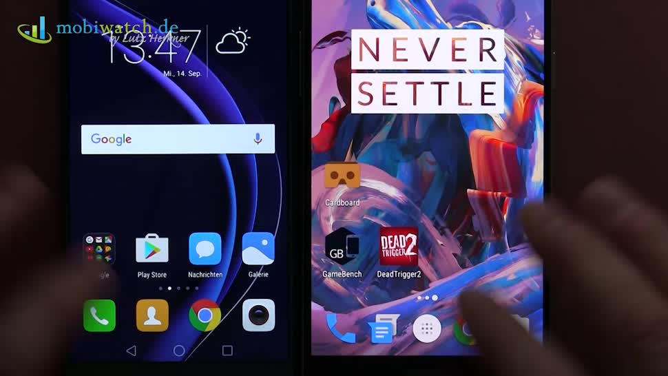 Smartphone, Android, Lutz Herkner, OnePlus 3, Honor 8