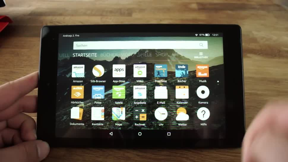 Tablet, Amazon, Test, Andrzej Tokarski, Tabletblog, Unboxing, Fire, Amazon Fire HD 8, Fire HD 8